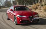 Alfa Romeo Giulia Quadrifoglio - top ten super saloons