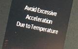 3 dashboard warning