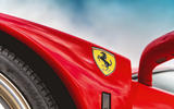 Ferrari F40 - badge