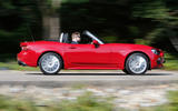 Fiat 124 Spider - tracking side