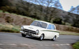 Ford Cortina Lotus - tracking side