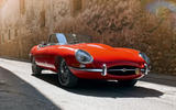 Jaguar E-Type - tracking front