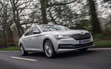 Top 10 best plug-in hybrid cars 2020 - Skoda Superb IV