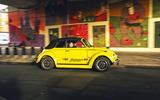 Volkswagen Beetle Bumblebee - tracking side
