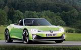 Volkswagen ID R render 2020 - stationary front