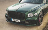 Bentley Flying Spur 2020 UK first drive review - front end