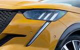 Peugeot 208 GT Line 2020 UK first drive review - headlights