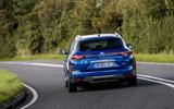 Renault Megane Sport Tourer E-Tech PHEV 2020 first drive review - tracking rear