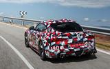 Toyota Supra prototype rear side