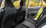 Skoda Fabia 1.0 TSI 110 Redline rear seats