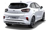 Ford Puma ST-Line X Vignale white rear