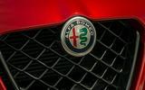 Alfa Romeo Giulia Quadrifoglio 2020 UK first drive review - nose