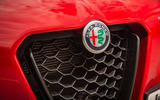 Alfa Romeo Stelvio Sprint 2020 UK first drive review - nose
