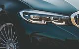 Alpina B3 Touring 2020 UK first drive review - headlights