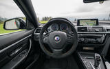 Alpina B4 99 Edition 2019 first drive review - steering wheel