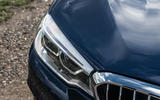 Alpina B5 Touring 2018 UK first drive review - headlights