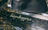 Aston Martin DBS Superleggera Volante 2019 UK first drive review - Superleggera badge