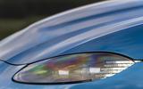 Aston Martin Vantage manual 2019 first drive review - headlights