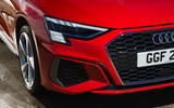 Audi A3 TFSIe 2020 UK first drive review - front bumper