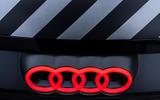 Audi RS E-tron GT 2021 prototype drive - nose badge
