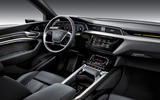 Audi E-tron 2019 official reveal dashboard