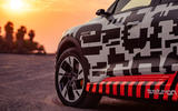 Audi e-Tron 2019 prototype first drive review - alloy wheels
