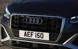 Audi Q2 35 TFSI Sport 2020 UK first drive review - nose