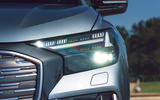 4 Audi Q4 E Tron Sportback 2021 UK FD headlights