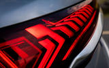 Audi Q7 2019 first drive review - rear light details