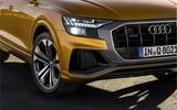 Audi Q8 2018 first drive review headlights