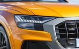 4 Audi Q8 TFSI e 2021 uk FD headlights