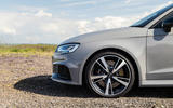 Audi RS3 Sportback 2019 UK first drive review - alloy wheels
