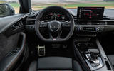 Audi RS4 Avant 2020 first drive review - dashboard
