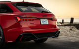 Audi RS6 Avant 2019 first drive review - rear end