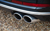 Audi S8 2020 UK first drive review - exhausts