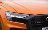 4 Audi SQ8 2021 UK FD headlights