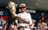 4 Autocar favourite racing drivers Lewis Hamilton trophy