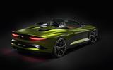 Bentley Bacalar Clerkenwell 2020 - static rear