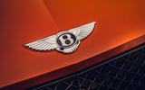 Bentley Bentayga 2020 UK first drive review - nose badge