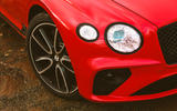 Bentley Continental GT V8 2020 UK first drive review - headlights