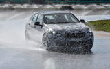 BMW 1 Series 2019 prototype drive - wet driving front