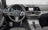 BMW 3 Series 330e hybrid 2019 first drive review - dashboard
