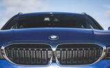 BMW 3 Series Touring 320d 2019 UK first drive review - kidney grille