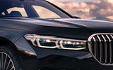 BMW 7 Series 730Ld 2019 UK first drive review - headlights