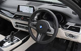 BMW 7 Series 740Ld long-term review dashboard