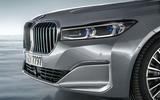 BMW 7 Series 750Li 2019 first drive review - front grilllllllle