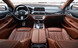 BMW 7 Series 745e 2019 first drive review - cabin