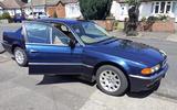 BMW 728i - static front