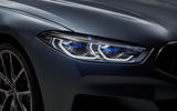 BMW 8 Series Gran Coupe 2019 first drive review - headlights