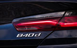 BMW 840d 2019 first drive review - rear lights